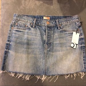 Mother Denim Mini Skirt
